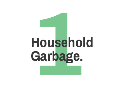 1 Household Trash