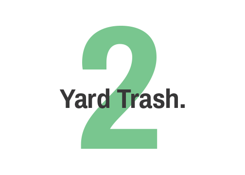 2 yard trash