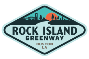 Ruston Rock Island Greenway Logo